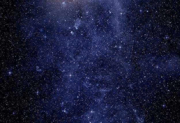 은하계의 별과 행성의 이미지. nasa가 제공 한이 이미지의 일부 요소
