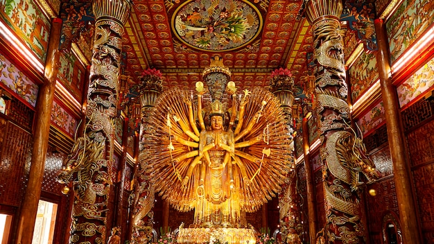 The images of guanyin,chinese god