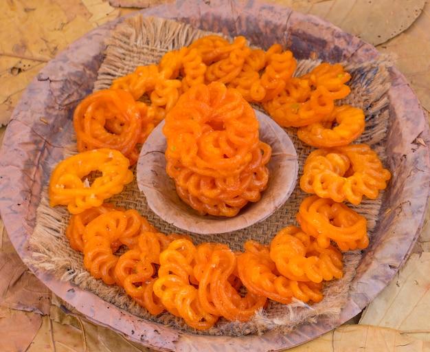 インドの伝統的な甘いimarti