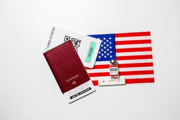Паспорт невосприимчивости к поездкам во время изоляции в сша