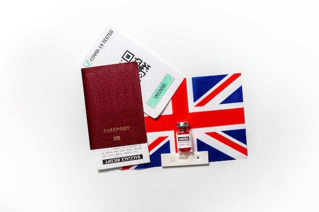 Паспорт невосприимчивости к поездкам во время изоляции вакцинация в соединенном королевстве
