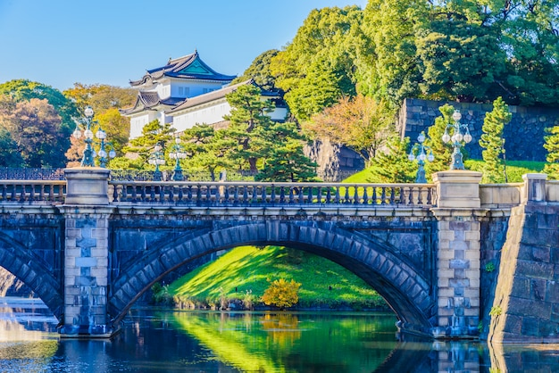 Imperial palace in tokyo japan