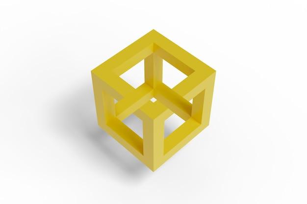 불가능한 큐브 격리입니다.