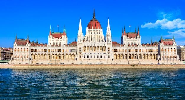 Впечатляющее здание парламента в будапеште