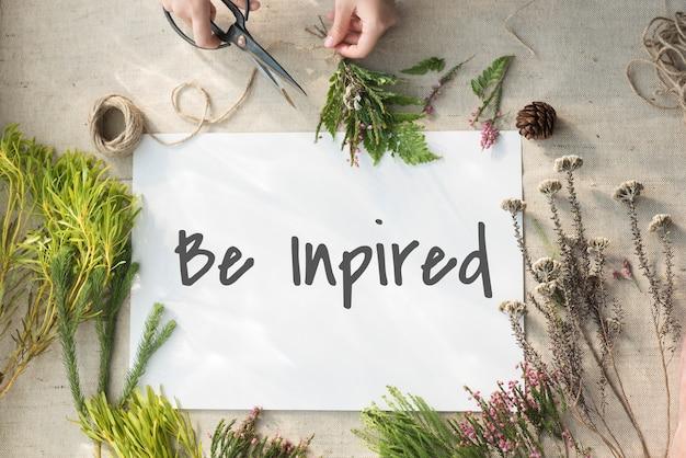 Креативная концепция улучшения идей, вдохновения