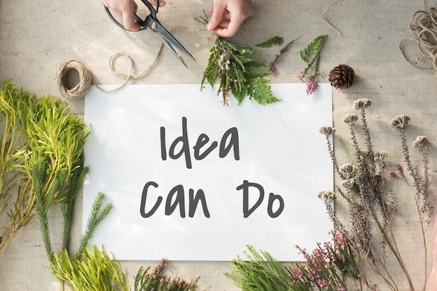Migliora il concetto creativo di ispirazione delle idee