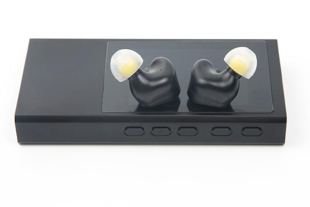 Hi-fi音楽プレーヤー用インイヤーヘッドホン