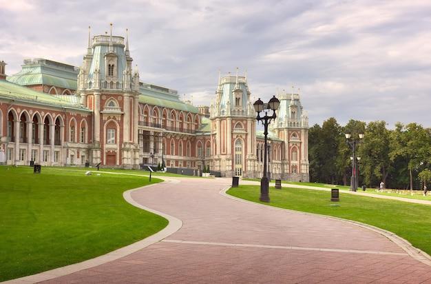 ツァリツィン公園宮殿と18世紀の建築家ワシリーバジェノフの公園アンサンブル