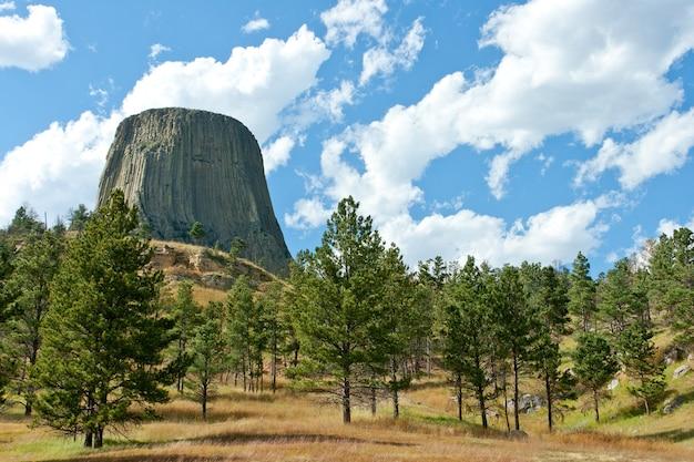 Incredibile scatto al devils tower national monument devils usa