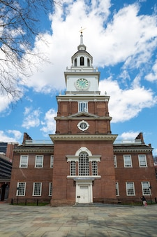 Independence hall in philadelphia usa