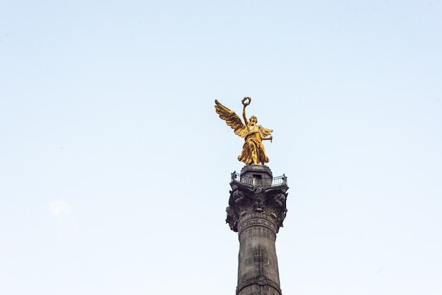 Independency angel mexico monument