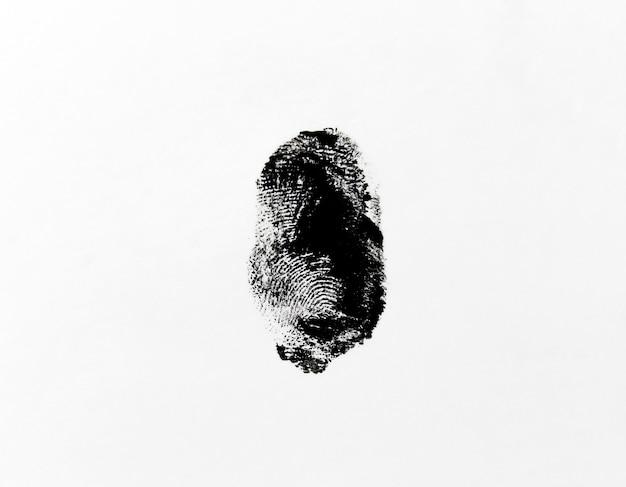 人差し指のプリントを分離