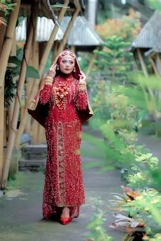 インドの衣装写真