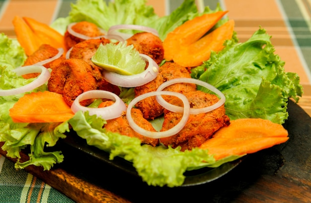 Indian chicken tikka .