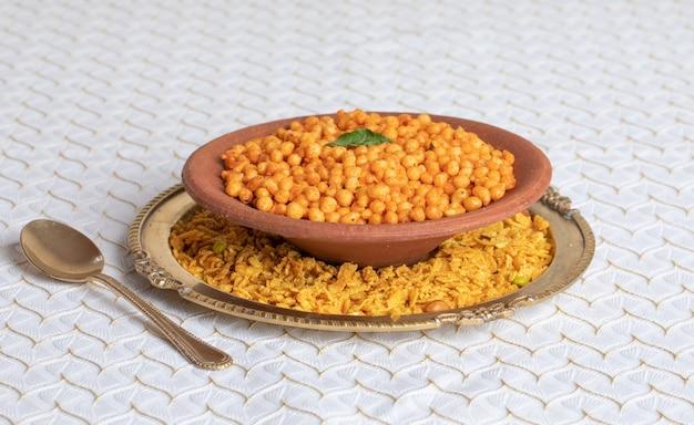 インドの教会料理ブーンディパコリ