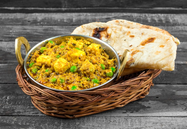 Indian cuisine mattar paneer food