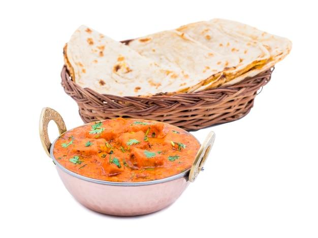 인도 요리 맛있는 파니 르 티카 마살라