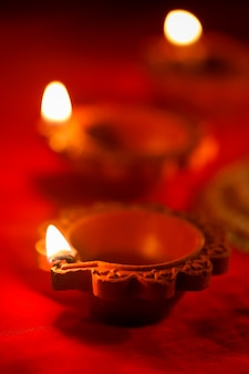 Indian diwali lamp