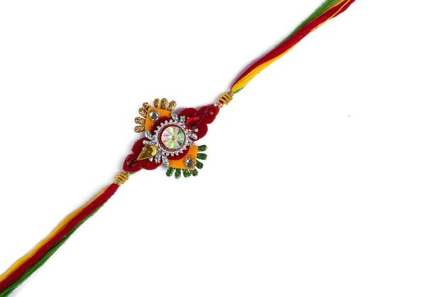 Indian festival: raksha bandhan with an elegant rakhi
