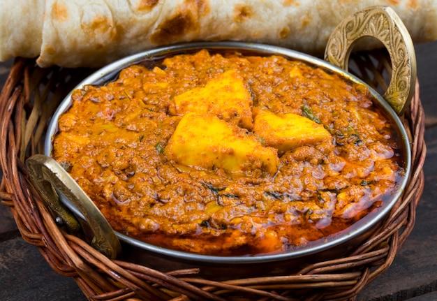 Indian food kadai paneer