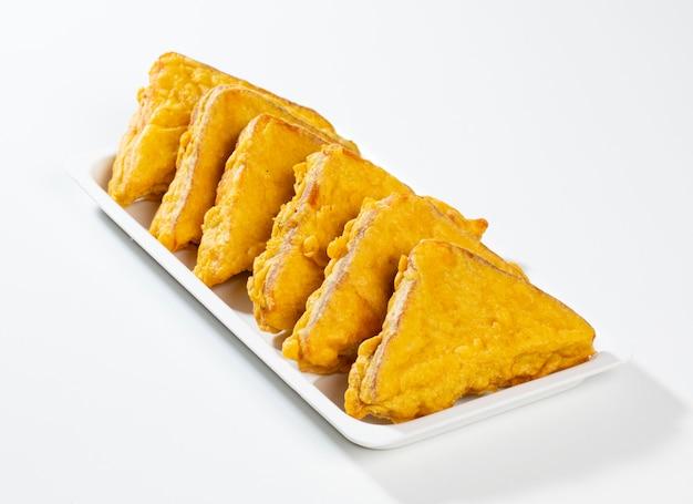 Indian fried snack bread pakora