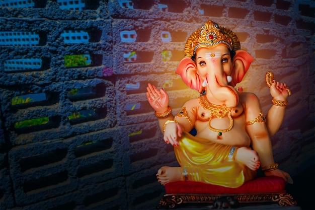 Indian ganesha festival , lord ganesha