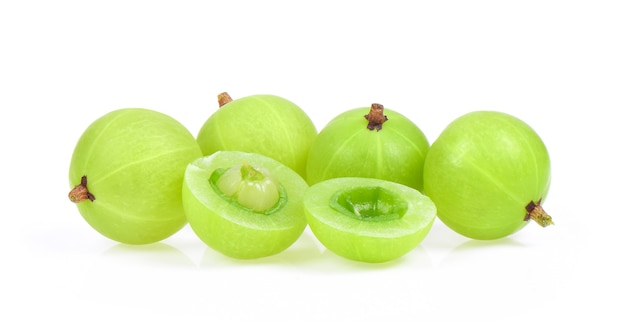 Indian gooseberry isolated