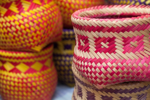 Indian handicrafts made by the natives of paraty
