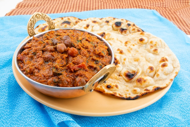 Indian healthy cuisine chana masala