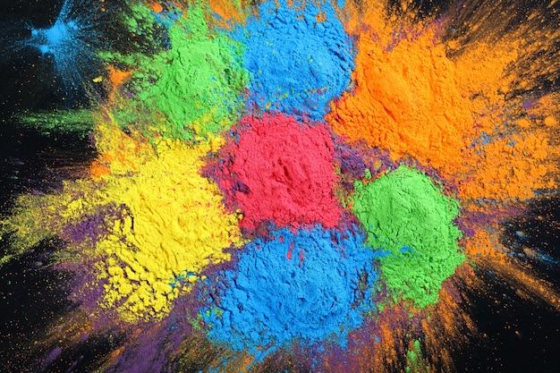 Indian holi festival colors
