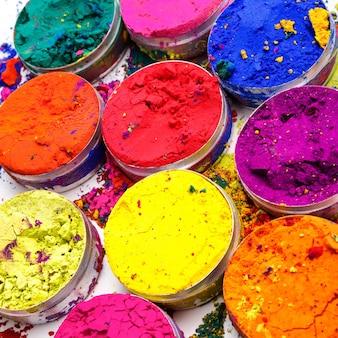 인도 holi 축제 색상 패턴 또는 질감