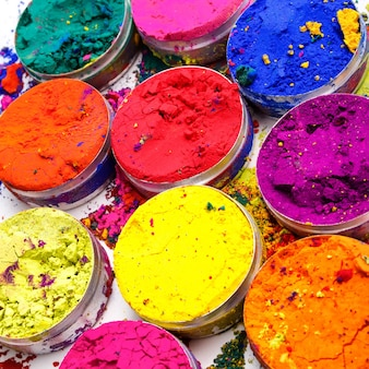 Indian holi festival colours pattern or texture