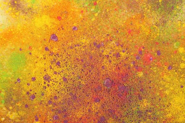 인디안 홀리 축제 색상