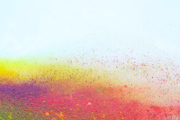 Индийский холи фестиваль цветов