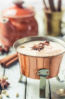Индийский чай масала чай