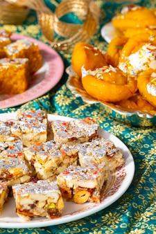 Indian popular mix sweet food