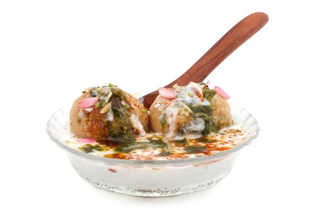 Indian soft cuisine dahi vada