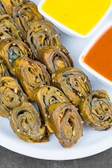 Indian spicy food patra