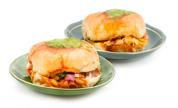 Indian street food dabeli