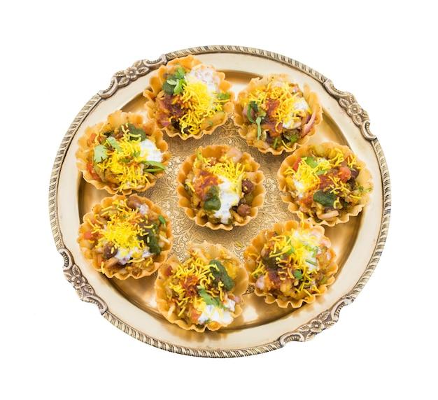 Indian street food sev puri