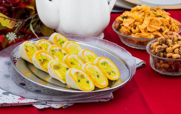 Indian sweet food barfi