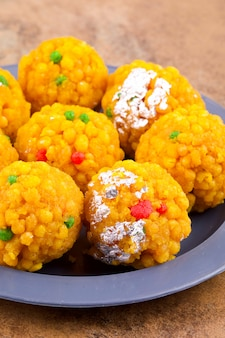 Indian sweet food laddu