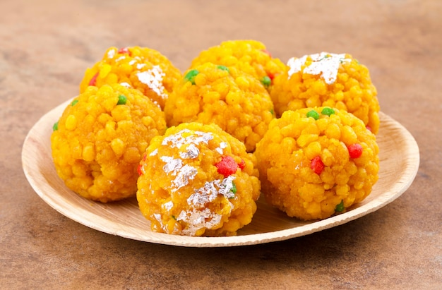 Indian sweet food laddu