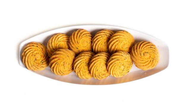 インドの甘い食べ物ナンカタイまたはクッキー