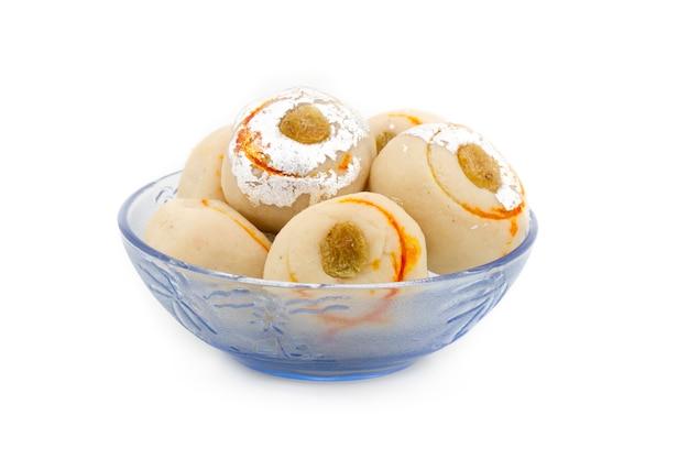 Indian sweet food peda