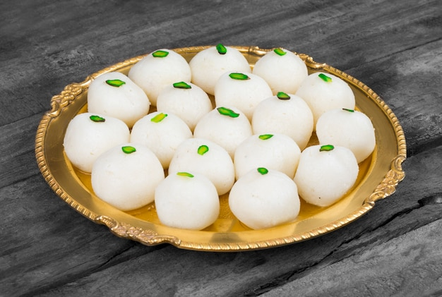 Indian sweet rasgulla