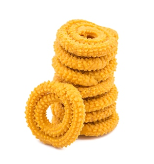 Indian traditional deep fried snack chakli