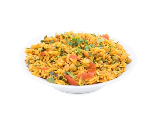 Индийский традиционный десерт вег бириани