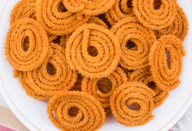 Indian traditional snack chakli