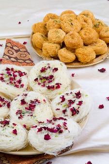 Indian traditional sweet food desi ghee ki pheni